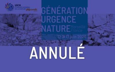 Génération Urgence Nature – Congrès de la Nature de l'UICN 2020