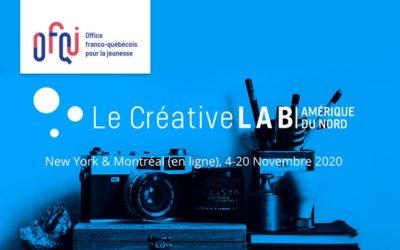 6e édition du Créative Lab Amérique du Nord Virtuel 2020