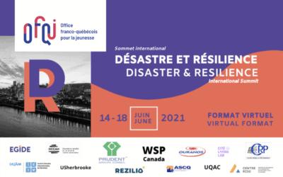 Sommet international Désastre et Résilience virtuel 2021