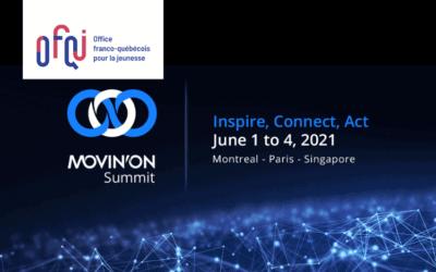 Sommet mondial de la mobilité durable Movin'On virtuel 2021