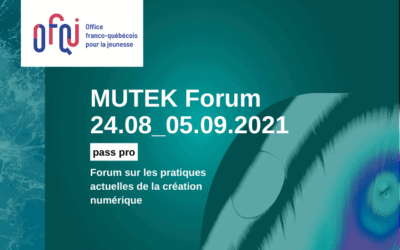 MUTEK Forum virtuel 2021